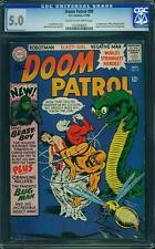 Doom Patrol #99 CGC 5.0 1st App. of Beast Boy from Teen Titans DC Comics