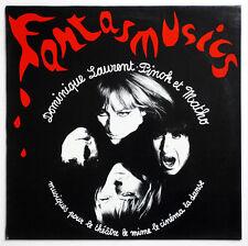 NM DOMINIQUE LAURENT, PINOK ET MATHO Fantasmusic experimental french PRIVATE LP