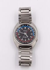Rare SEIKO 6117-6419 AUTOMATIC NAVIGATOR TIMER GMT STAINLESS STEEL DATE Watch!