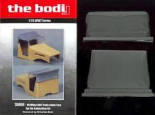 The Bodi Figures 1/35 U.S. WHITE 606 TRUCK CABIN TARP Resin Set