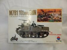 NITTO M7B1 105MM GUN SEALED CONTENTS MODEL KIT MIB 1:76