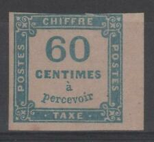"FRANCE STAMP TIMBRE TAXE 9 "" CHIFFRE TAXE 60c BLEU "" NEUF x A VOIR   P402"