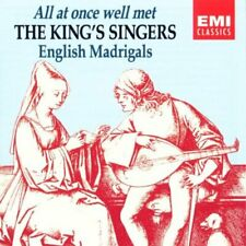 King's Singers,The - Anglais Madrigale - All At Once Well (Bien ) Met CD