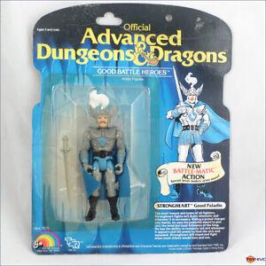 D&D Advanced Dungeons & Dragons Strongheart Battle-matic - LJN TSR carded figure