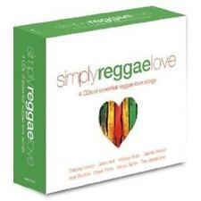 SIMPLY REGGAE LOVE 4 CD NEW!