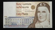 15.10.1999 £5 Central Bank of IRELAND P75b  -> GEM UNC <-  RTM684953