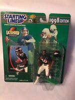 1998 Kenner Starting Lineup Extended Series TERRELL DAVIS Denver Broncos