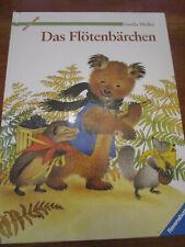 E747) ALTES KINDERBUCH DAS FLÖTENBÄRCHEN GERDA MULLER RAVENSBURGER VERLAG 1992