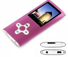 Btopllc MP3 Player, MP4 Player, Music Player, Portable 1.7 inch  Pink