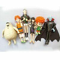 6PC Hotel Transylvania 3 Johnny Dennis Mavis Frank Action Figure Toy Doll Gift