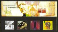 GB JANUARY 1999 INVENTOR'S TALE MILLENNIUM PRESENTATION PACK NO 294