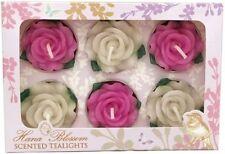 Hana Blossom Rose Candles & Tea Lights
