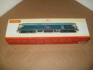 Hornby R2348 Class 50 50018 'RESOLUTION' BR Blue Train Set Model Railway Layout