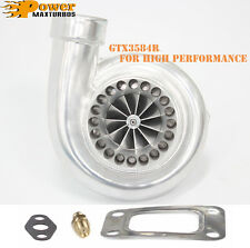 GT35 GTX3584R Dual Ball Bearing Billet Wheel Turbo Upgraded from GTX3582R GT3582