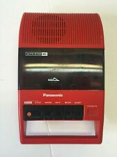 PANASONIC RQ-44 Vintage Red Portable Cassette Player/Recorder Works!