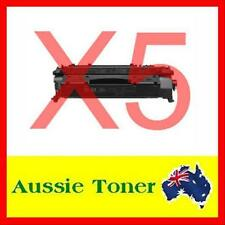5x CE505A Black Toner Cartridge for HP 05A Laserjet P2035,P2035N,P2055