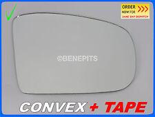 ALA SPECCHIO VETRO CONVEX + Nastro Per Mercedes ML W164 2005-2008 LATO DESTRO #381