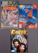 Cards Illustrated #23 November Non-Sport Update Vol 4 #2 & Combo #9 October 1995