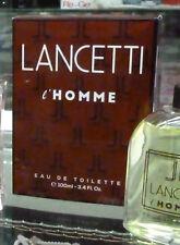 Lancetti L'Homme profumo uomo eau de toilette 100 ml spray perfume man spray