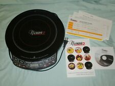 NuWave 2 Precision Induction Cooktop PIC2 Portable Cook Top 30151 Manual & DVD