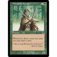 4 Wirewood Savage - LP - Onslaught - mtg - x4 4x