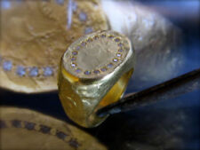 Handgefertigte runde Diamant Echtschmuck