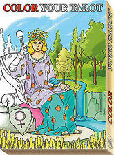 NEW Color Your Tarot Grand Trumps by Barbara Moore