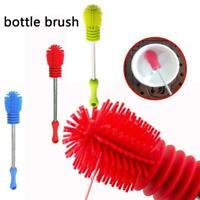 Silikon-Flaschenbürste Cup Scrubbing Kitchen Clean Waschen-Reinigung Zum L9F3