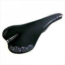 New Black Selle Italia SLR Fibra Road Cycling Saddle, only 135 gr.