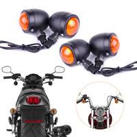 4 Moto clignotants Bullet Lampe Indicateur pour Harley Bobber Yamaha Kawasaki FR