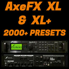 ✪ Fractal AXE FX 2 XL & XL+ ✪  2,000+ PRESETS / PATCHES ✪ AxeFX 2 MEGA PACK ✪