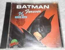 BATMAN FOREVER 16 MOVIE HITS MUSIC CD ALBUM