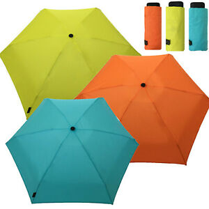 Smati Strong Fold Up Wind Resistant Automatic Extra Mini Small 6 Rib Umbrella