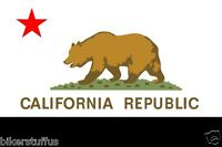 CALIFORNIA FLAG BUMPER STICKER TOOLBOX STICKER LAPTOP STICKER HELMET STICKER