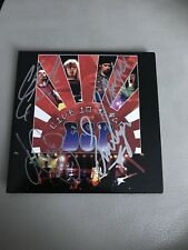 Eric Singer project, Live In Japan CD! Signed By All 4 ! KISS /Bruce Kulick/MINT