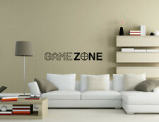 Game Zone Wall Quotes Wall Art Living Room Wall Stickers UK 50i