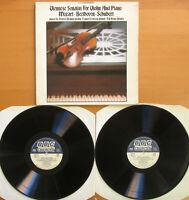 REF 313 Viennese Sonatas Violin & Piano Norbert Brainin 2xLP BBC Records NM/VG