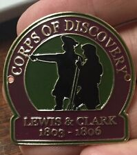 Lewis And Clark Corps Of Discovery walking Hiking Medallion NEW staff  UTAH