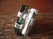 Statement Designer dragón dragón anillo plata 925er vulkanglas 18,25 mm hagas la mosquita muerta