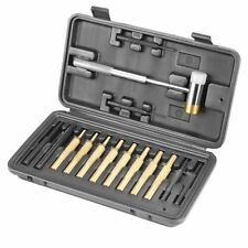 Gunsmithing Hammer Punch Set Gunsmith Tools Storage Case Brass Steel Punches Kit