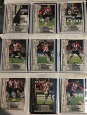 PANINI WCCF Football Card SEGA 2005/06 PSV Team set complete English vers.