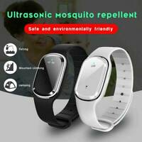 Ultrasonic Anti Mosquito Insect Pest Bug Repellent Repeller Wrist Band Bracelet#