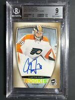 2018-19 The Cup Carter Hart Rookie GOLD Spectrum Auto /36 Graded BGS 9 10 Auto