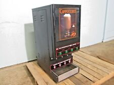 """CECILWARE GB4 M5.5"" COMMERCIAL HD (4) FLAVORS CAPPUCCINO/HOT BEVERAGE DISPENSER"