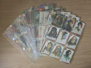 Star Wars Galaxy Deluxe Series 1 Foil Parallel Tin Near Complete 140 Card Set