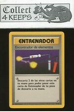 Pokemon TCG Unlimited Base Set Item Finder 74/102 (Spanish Rare Nrmt)