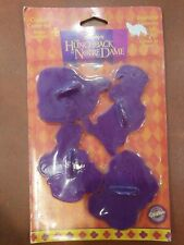Vtg Disney hunchback of notre dame Cookie Cutter Set Wilton Crafts Press 1995