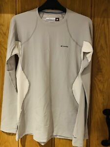 Columbia Long Sleeved Thermal Reflective Top / Base Layer Size L