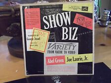 """SHOW BIZ VARIETY TO VIDEO 4 RCA GREEN LABEL EXTENDED PLAY 45""""S NARRATED BY GEORG"""