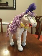 Groovy Girls Primrose Horse Manhattan Toy Company Purple